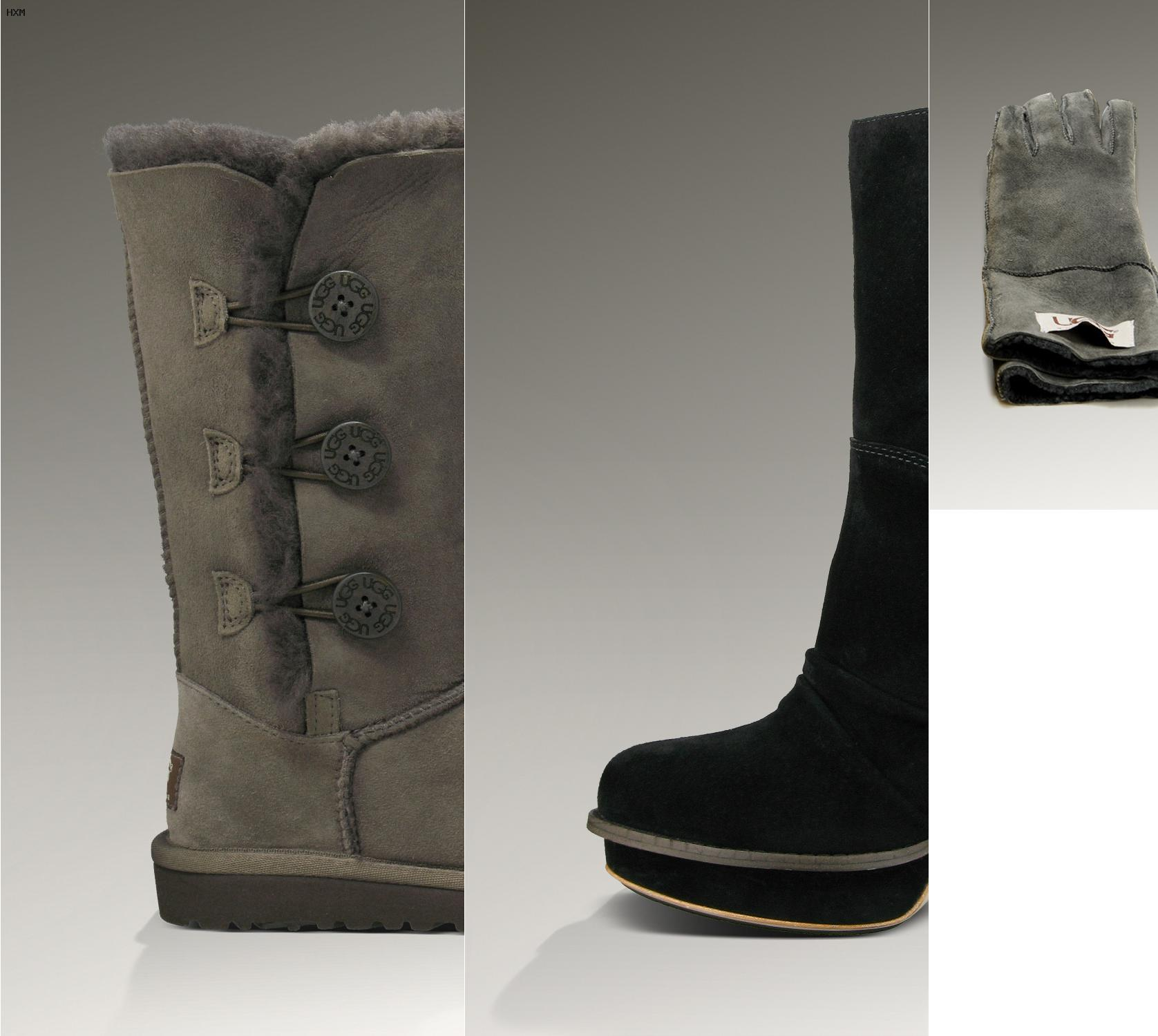 ugg bailey bow grau billig